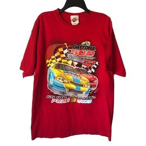 NASCAR Daytona 500 2003 Graphic T-Shirt Red Mens